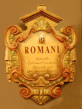Romani  Designs Furniture Logo  casa California